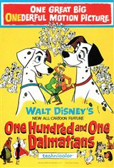 101 Dalmatians Movie Poster