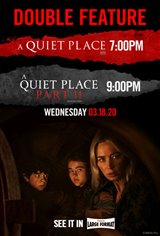 A Quiet Place Double Feature Movie Poster