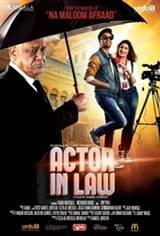 Actor In Law Movie Poster