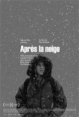 Après la neige Movie Poster