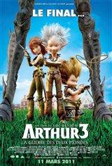 Arthur 3 : La guerre des deux mondes Movie Poster