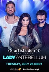 Artists Den Presents Lady Antebellum Movie Poster