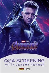 Avengers Endgame: Q&A Screening with Jeremy Renner Movie Poster