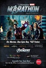 Avengers Marathon Movie Poster