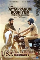 Ayyappanum Koshiyum Large Poster