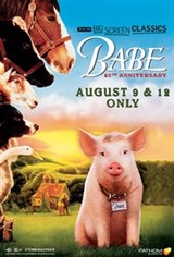 Babe (1995) 25th Anniversary presented by TCM Movie Poster