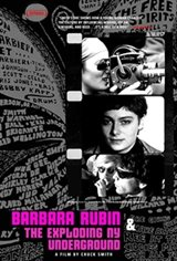 Barbara Rubin and the Exploding NY Underground Movie Poster
