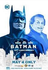 Batman (1989) 30th Anniversary Movie Poster