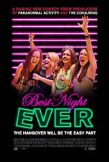 Best Night Ever Large Poster