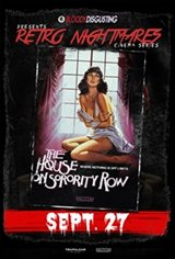 Bloody Disgusting Presents House On Sorority Row Movie Poster