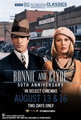 Bonnie and Clyde 50th Anniversary (1967) presented by TCM Movie Poster