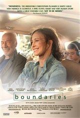 Boundaries Movie Poster Movie Poster