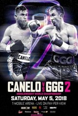 Canelo vs. GGG 2 Movie Poster
