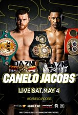 Canelo vs. Jacobs Large Poster