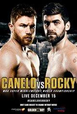 Canelo vs. Rocky Large Poster