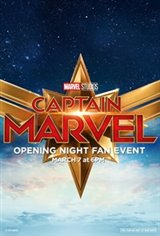 Captain Marvel - Opening Night Fan Event Movie Poster