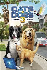 Cats & Dogs 3: Paws Unite! Movie Poster Movie Poster