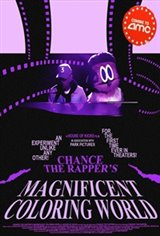 Chance the Rapper's Magnificent Coloring World Movie Poster