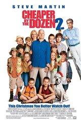 Cheaper by the Dozen 2 Movie Poster