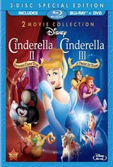 Cinderella II: Dreams Come True and Cinderella III: A Twist in Time Large Poster