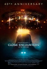 Close Encounters of the Third Kind 40th Anniversary Release Movie Poster
