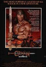 Conan the Destroyer Movie Poster