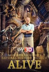 David Attenborough's Natural History Museum Alive 3D Movie Poster