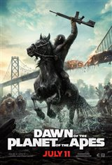 Dawn of the Planet of the Apes Large Poster