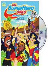 DC Super Hero Girls: Intergalactic Games Movie Poster