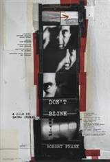Don't Blink - Robert Frank Movie Poster