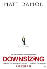 Downsizing Movie Poster Movie Poster
