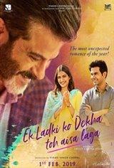 Ek Ladki Ko Dekha Toh Aisa Laga Large Poster