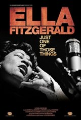 Ella Fitzgerald: Just One of Those Things Large Poster