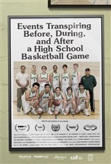 Events Transpiring Before, During, and After a High School Basketball Game Movie Poster