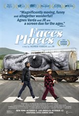 Faces Places Large Poster