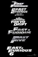 Fast & Furious Marathon Movie Poster
