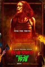 Fear Street Part 2: 1978 (Netflix) Movie Poster
