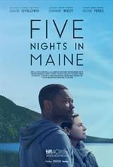 Five Nights in Maine Large Poster