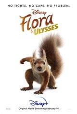 Flora & Ulysses (Disney+) Movie Poster