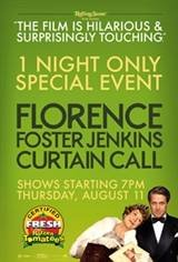 "Florence Foster Jenkins ""Curtain Call"" Movie Poster"