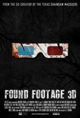 Found Footage 3D Movie Poster