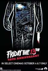 Friday the 13th - 40th Anniversary Movie Poster