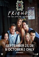 Friends 25th: The One With The Anniversary Large Poster