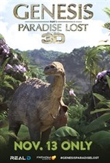 Genesis: Paradise Lost 3D Movie Poster