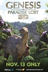 Genesis: Paradise Lost 3D Movie Poster