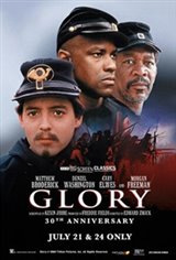 Glory 30th Anniversary (1989) presented by TCM Movie Poster