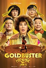 Goldbuster Large Poster