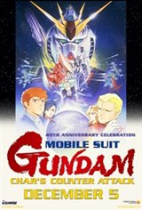 Gundam 40th Anniversary Celebration: Chars Counterattack Movie Poster