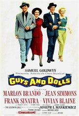 Guys and Dolls Large Poster