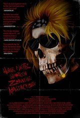 Hairmetal Shotgun Zombie Massacre: The Movie Movie Poster
